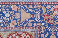 Turkish Hereke Pure Silk Rug
